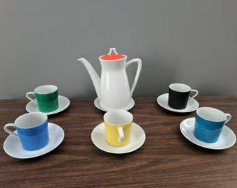 Lipper and Mann Mid-Century Modern Coffee Set