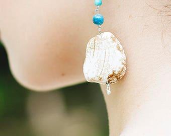 Blanca Magnesite Earrings