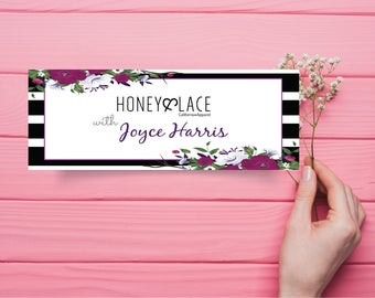 Honey and Lace Facebook Cover, Custom Honey & Lace Facebook Photo, Custom Honey Lace Facebook, Digital File