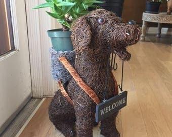 Doggie Planters
