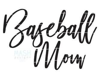 Baseball Mom svg, baseball svg, baseball svg file, baseball mom shirt design, baseball shirt svg, mom shirt svg file, svg for shirts