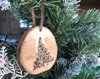 Handmade christmas tree ornament - tree design