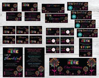 Dot Dot Smile Kit, Dot Dot Smile Marketing Kit, DDS Marketing Bundle, DDS Marketing Set, Personalized Card, Printable Items DDS47