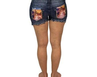 Jazzy Short Shorts - 1oak