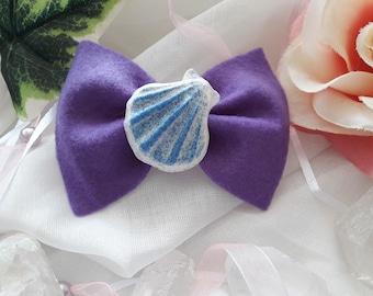 "Hairclip / hair bow ""Mermaid"""