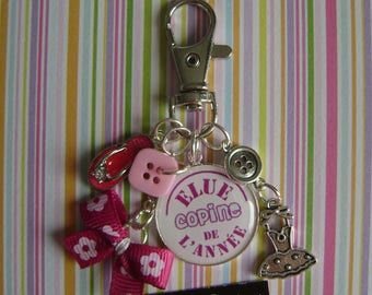 Keychain / bag charm-girlfriend year