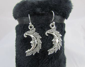 "Earrings ""half moon"""