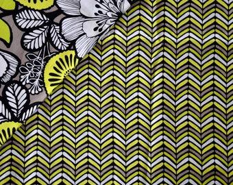 """CHEVRON"" VINTAGE""- VERA BRADLEY pattern cotton fabric"