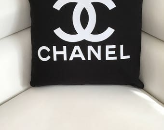 Chanel 40 x 40 Cotton Removable cushion