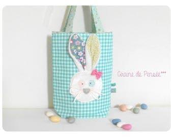 Large p Zoreilles rabbit bag ' small and large gourmet
