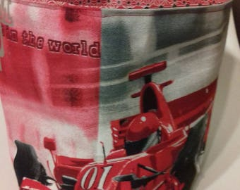 """tidy """"formula one"""" fabric and waxed canvas"""