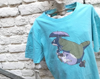 You shirt printed TOTORO