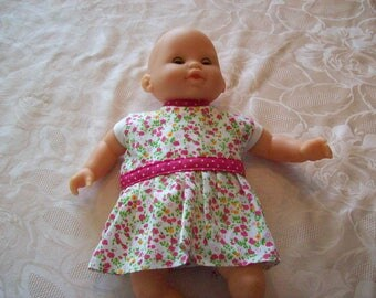 clothes: dress for dolls and 30 cm labels, (type tidoo Corolla hug)