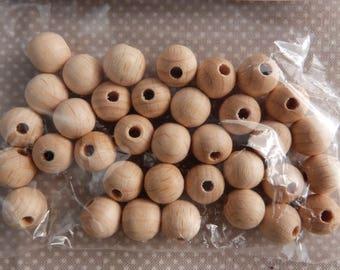 Wooden beads for macrame bag