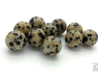 Dalmatian Jasper 10mm (pg155) 10 beads