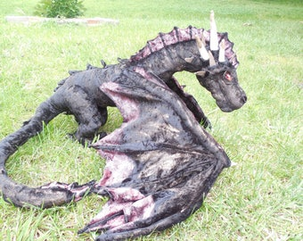 Giant Drogon Plush Dragon from Games of Thrones Pattern