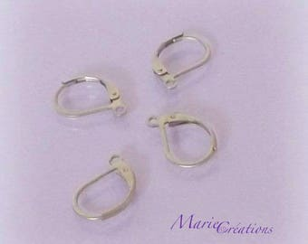 Stud Earrings / stainless steel - set of 5 & 10 pairs