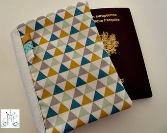 Passport triangles Scandinavian spirit