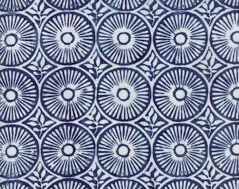 Longitude Navy batik by Kate Spain from Moda Batiks