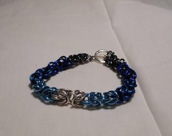 6.5 inch Byzantine Bracelet