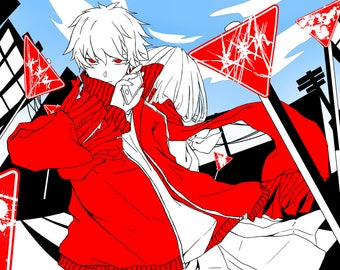 Kagerou Project Shinaya 11 by 17 print
