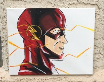 The Flash Canvas Painting