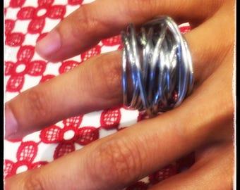 Aluminum wire nest ring