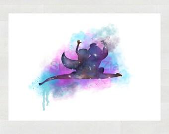 Aladdin Flying Magic Carpet Ride Print, Wall DECOR, Poster, Disney Art Print