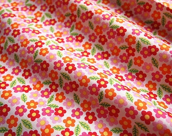 Colorful American fabric Michael Miller flower