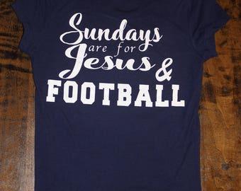 Sundays are for Cowboys - Cowboys football shirt - Sunday funday shirt - womens cowboys - Dallas Shirt