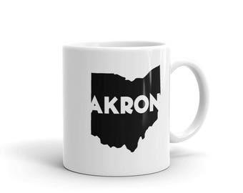 Akron Ohio - Coffee Mug - 11oz and 15oz