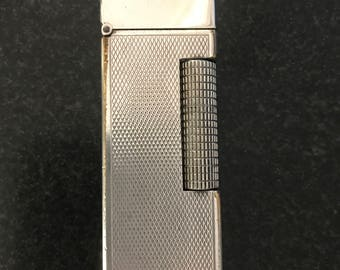 VINTAGE 1970'S Dunhill Silver Rollagas Lighter