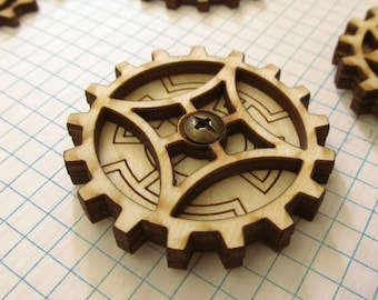 Kinetic Gear Spinner: GSL1-Cathedral Window
