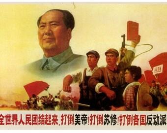 Red China communist Chinese.