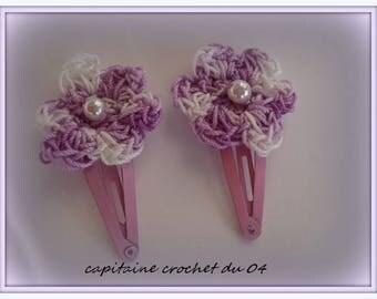 two hair clips/hair clip baby/birth/girl/girl/clips clip clips gift has hair/little girl/hair clip hair/handmade