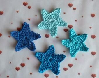 1 star crochet cotton - choice of color