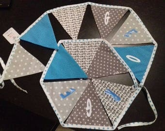 Bunting for boy's room