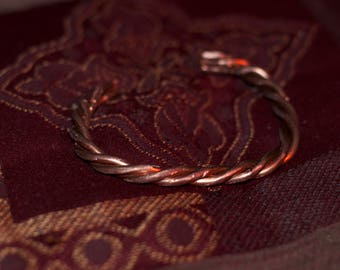 Copper Rope Bracelet