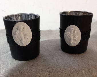 Black candle for your home decor