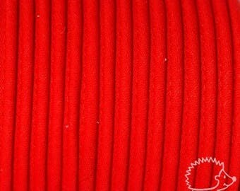 4 m 10 mm red cotton piping