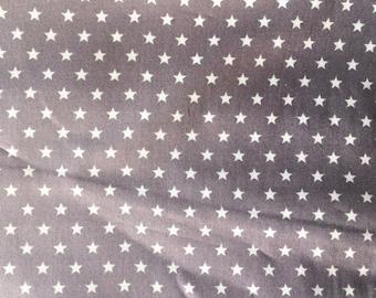 COUPON 2.25 m-50% cotton Poplin stars