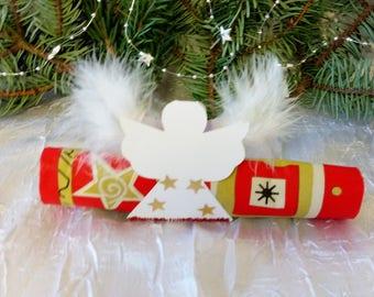 "napkin ring or mark up ""deco Christmas Angel"