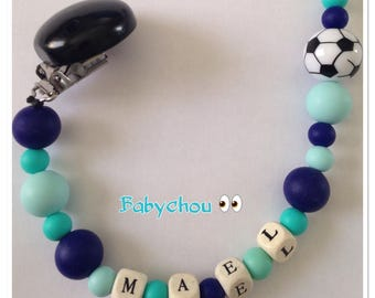 Sweet Pearl silicone with name football except name