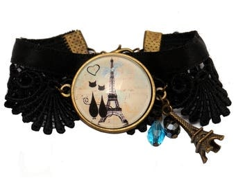 """Vintage """"Paris"""" bracelet"""