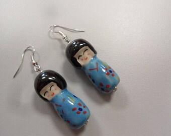 KOKESHI earrings