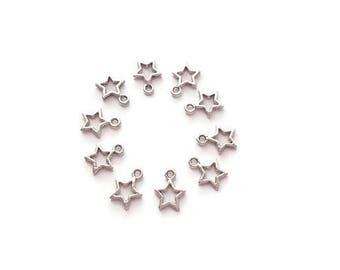 Star x 5 star pendants