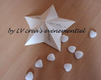container for sweets star wedding christening...