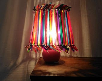 Small multicolor Bohemian lamp