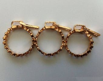 Triple ring by BAGART triple ring