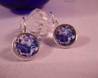 "Earrings ""Blueberry"" Creat'Yon - simple and beautiful."